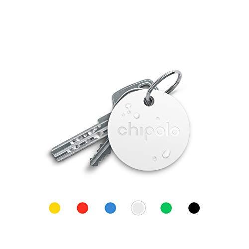 Chipolo Plus Bluetooth Schlüsselfinder und Handyfinder – Der lauteste (100 dB)