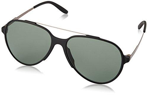 Carrera Herren 118/S D5 Guy Sonnenbrille, Schwarz (Black Matte/Green), 57