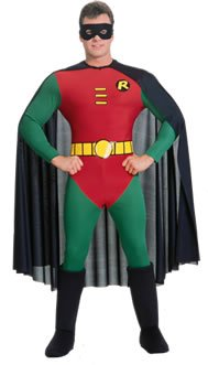 Robin–Costume Batman per uomo, taglia M, r15549-s