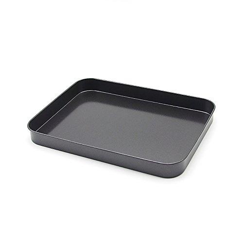 Antiaderente Bakeware 23x 7, per biscotti, grigio - Happy Elephant Tea