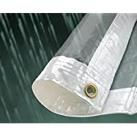 Kitmaster Supplies Glass Clear PVC Waterproof Tarp Tarpaulin Ground Sheet Cover 310GSM Super Heavy Duty