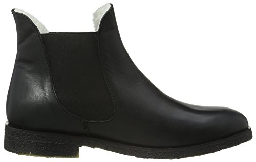 Sofie Schnoor Damen Raw Boot W. Fur Kurzschaft Stiefel Schwarz (Black)