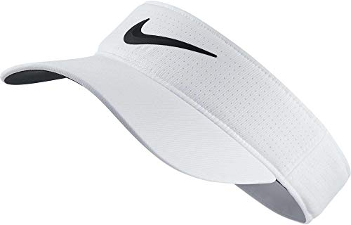 Nike Damen Golf-schirmmütze AoeroBill, White/Anthracite/(Black), One Size, 892740-100