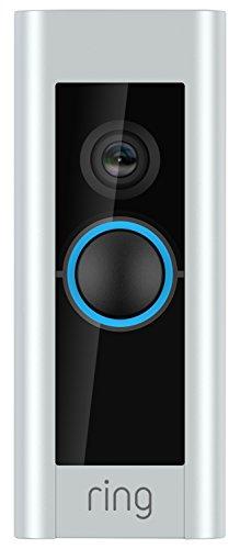 Preisvergleich Produktbild Ring Video Doorbell Pro - Video Türklingel Pro Set mit Türgong und Transformator, 1080p HD Video, Gegensprechfunktion,