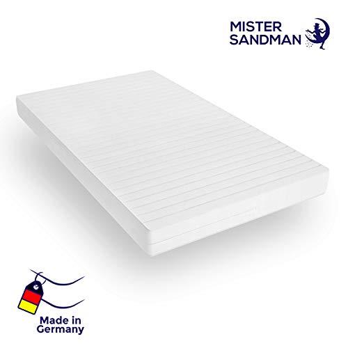 Mister Sandman orthopädische 7-Zonen-Matratze für besseren Schlaf- Kaltschaummatratze H2/H3 mit ergonomischen Liegezonen, Höhe 15cm (180 x 200 cm) -