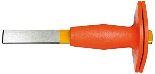 GEDORE 104 HS Schlitzmeißel flachoval, mit Handschutz 240x26x7 mm