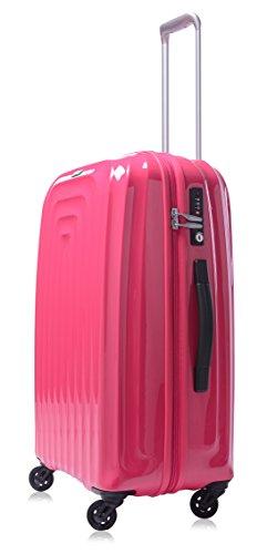 lojel-wave-polycarbonate-medium-upright-spinner-luggage-pink-one-size