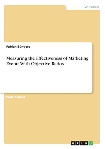 Measuring the Effectiveness of Marketing Events With Objective Ratios