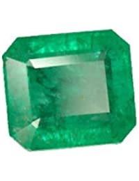 Color Gems Emerald 12.25 Ratti Untreated Unheated Natural Certified Loose Precious Panna Gemstone for Men and Women