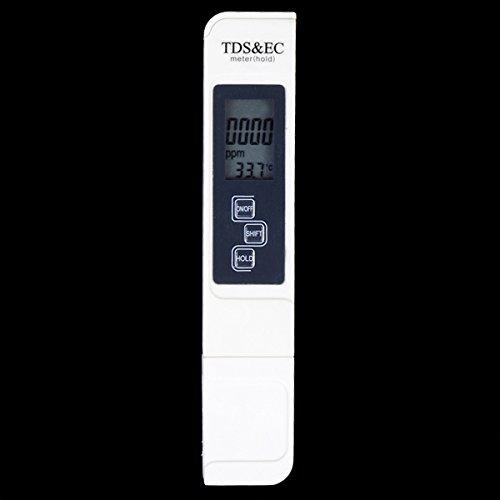 DyNamic 3 in 1 TDS Tester EC-Messgerät Wasserqualitätsmessung Test-Tool