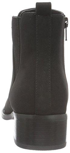 Bianco Deco Chelsea Boot Jja16, Bottes Classiques femme Noir - Schwarz (10/Black)