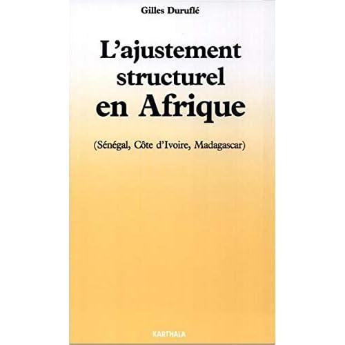 L'ajustement structurel en Afrique (Les Afriques)