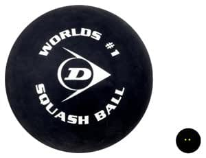 dunlop squash big ball sport freizeit. Black Bedroom Furniture Sets. Home Design Ideas