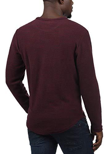 JACK & JONES Felix Pullover Herren Sweatshirt Pulli Mit Rundhalsausschnitt, Größe:S, Farbe:Port Royale - 3