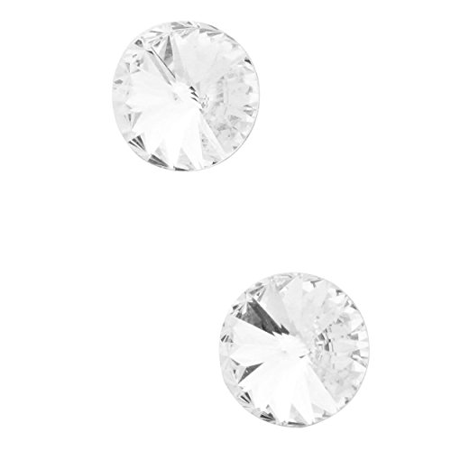 rosemarie-collections-womens-10mm-round-genuine-austrian-crystal-earrings-clear