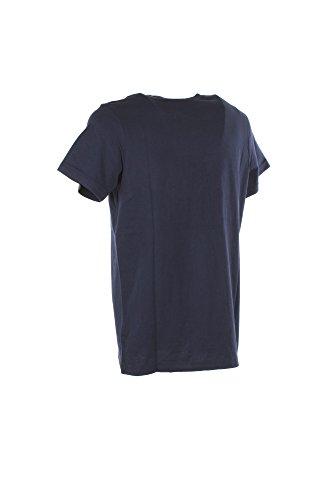 Diesel Herren T-Shirt Blu (Medium Blue 8At)