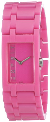 Esprit Women's Houston Analogue Quartz Watch A.ES103362011 Funky Pure Pink