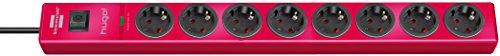 Brennenstuhl 1150610378 8AC outlet(s) 2m Rosso protezione da sovraccarico