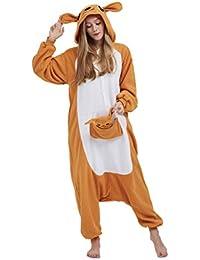 5a1f876def Casa Onesie Licorne Pijamas Kigurumi Pijama Animal Unisexo para Adultos con Capucha  Traje de Cosplay Disfraz