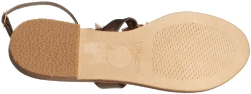 Unze Evening Sandals, Sandali donna Marrone (Braun (L18522W))