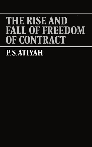 professor atiyah essays on contract Contract, consideration and consistency david sim department of accountancy and business law 16 ps atiyah essays on contract (clarendon press, 1994) 180 - 187.