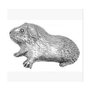 Geschenkkarton Zinn Meerschweinchen Anstecker Abzeichen oder Brosche Geschenk für Schal, Krawatte, Hut, Mantel oder Taschen