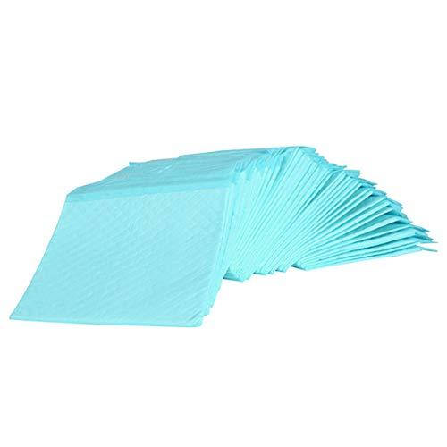 Cuscino assorbente per animali domestici extra large, pannolino assorbente per pannolini cucciolo per animali domestici,Blu,L