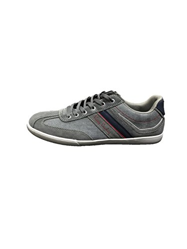 Pierre Cardin PC215, Scarpe stringate uomo (43, Grey)