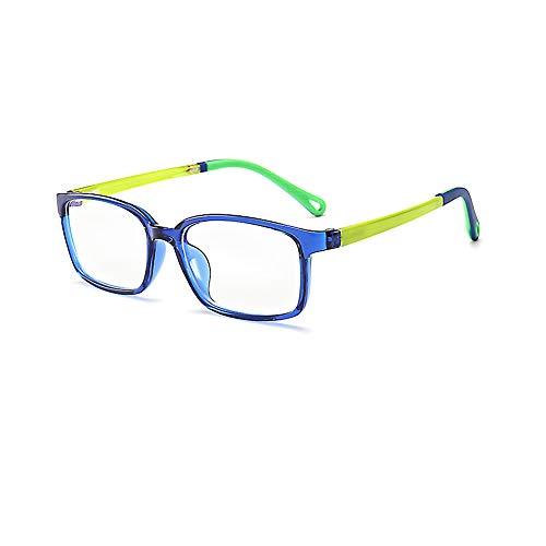 Kids Computer Glasses, Computer Blue Light Blocking Glasses, UV Protection Computer Glasses Reading Glasses Fashion Goggle for Boys Girls