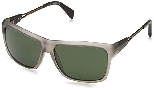 Diesel Damen DL0091 5849N Sonnenbrille, Transparent, 50