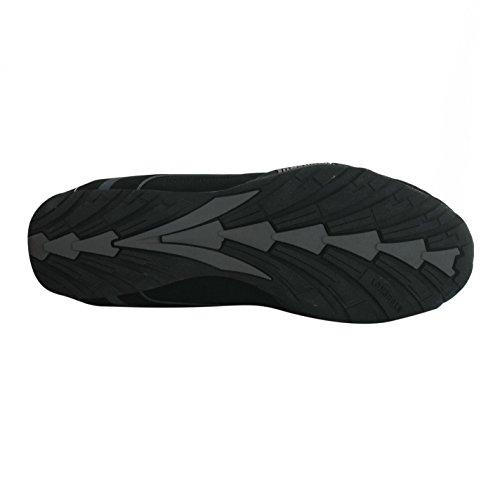LONSDALE Baskets pour hommes Baskets Chaussures De Formateurs Sports et loisirs Neuf Camden noir/ Noir