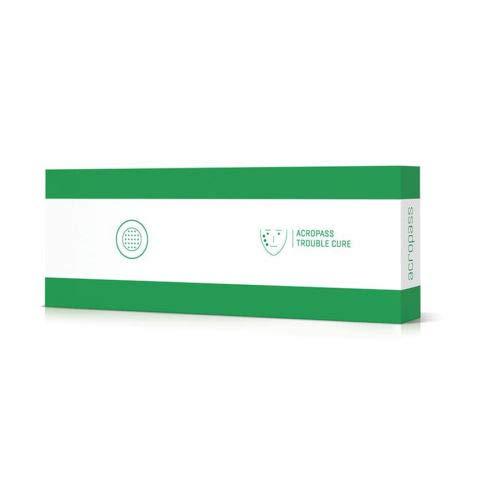 Acropass Hautpflege, alterungslos, 6 Pflaster und 6 Hautreinigungsboxen