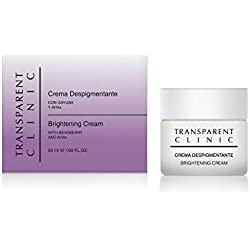 Transparent Clinic - Crema despigmentante - con gayuba y AHA's - 50 ml