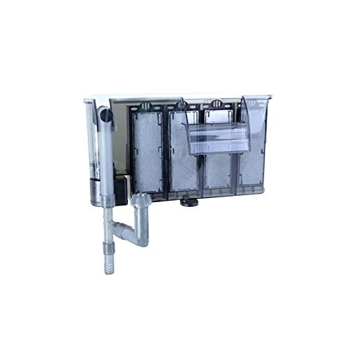 Biback Hang-on Aquarium Filter, Externe hängende Aquarium Wasserfall Filter für Wasser Zirkulation System für Aquarium Tank Eco-Tank