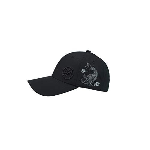 HUIJUNWENTI Frühling und Herbst neue Mode im chinesischen Stil Baseball-Cap bequem atmungsaktiv Männer und Frauen Hut, weiß, schwarz Sonnenschutzhut, (Color : Black) (Frauen Schwarzen Und Weißen Hut)