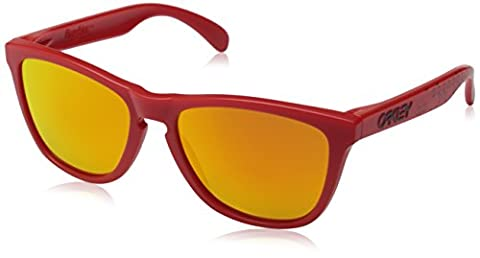 OAKLEY - 9013 - Lunettes Homme, Rouge (Matte Red), 55 mm