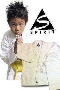 Karate kimono da karate, 255 g, 100% cotone, colore: bianco, 1/140 cm
