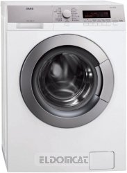 Aeg l85470sl Freestanding Front-Load 6.5�kg 1400rpm A + + + White���Washing Machine (Freestanding, Front Loading, White, Left, LCD, Stainless Steel)