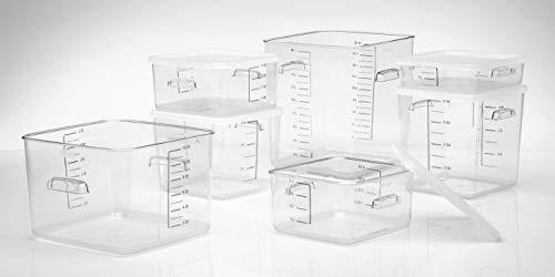 Rubbermaid FG652300WHT Lid For 12-22 Qt White Square Storage Container