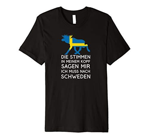 Stimmen im Kopf - Ich muss nach Schweden - Nordisches TShirt