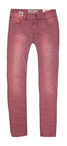 Coccara Damen Jeans Hose Curly Rosa