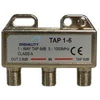 Digiality 4806 Divisor de señal para Cable coaxial Cable Divisor y combinador - Splitter/Combinador