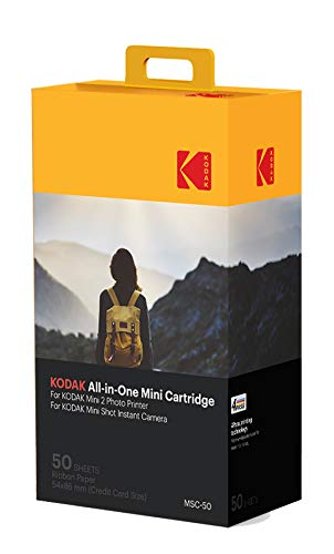 Kodak-Cartucho Mc impresión fotográfica mini