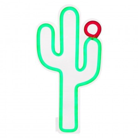 Leuchtstofflampe Kaktus Wand-Sunny Life-s8owasce - Life Leuchtstofflampe