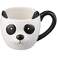 Price & Kensington Tasse feines stabiler China 430 ml Panda Woodland handbemalt, Multi