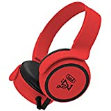 Trevi DJ 673 M Diadema Binaurale Alámbrico Rojo - Auriculares (Binaurale, Diadema, Rojo, 100 mW, Alámbrico, 1,1 m)
