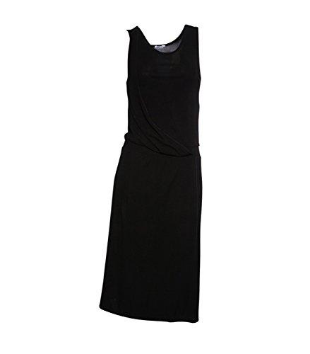 filippa-k-damen-weiches-viskose-kleid-schwarz-black-l