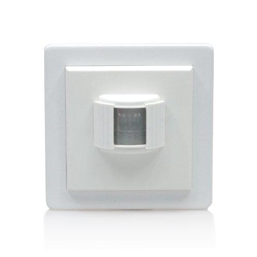 LightwaveRF Bewegungsmelder, PIR-Sensor, kabellos weiß