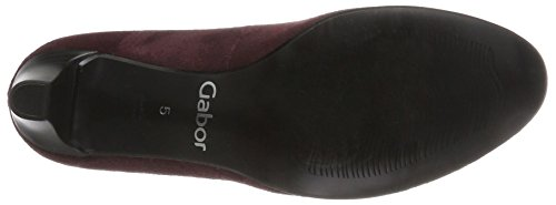Gabor Damen Basic Pumps Rot (35 Bordo)