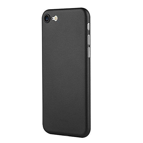 Wkae Benks PP Material Ultra-dünnen Rand komplett eingewickelt Schutzhülle für iPhone 7 ( Color : Black white ) Black